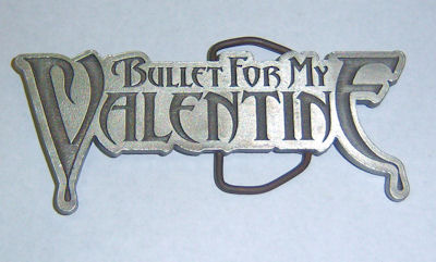 Bullet For My Valentine Matte Finish Belt Buckle 001