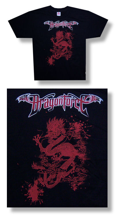 Dragonforce Dragon Blood Tee 001