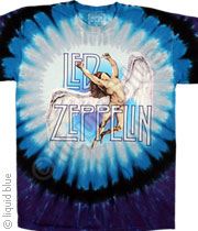 Led Zeppelin Swan Song Tee Tie-Dye 046