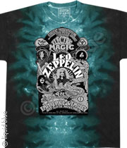 Led Zeppelin Electric Magic Tee Tie-Dye 047
