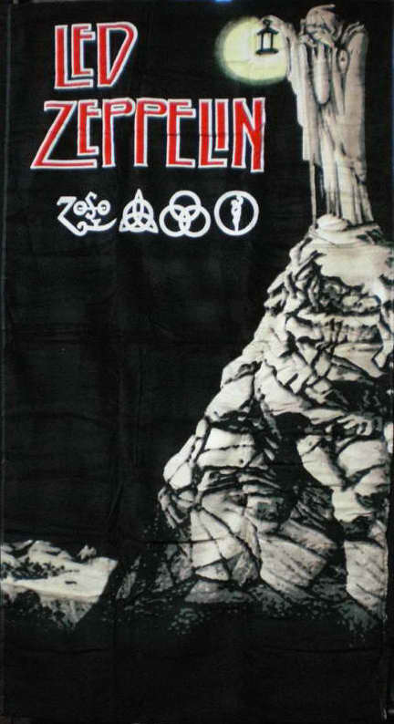 Led Zeppelin Beach Towel 042