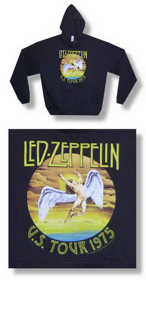 Led Zeppelin U.S. Tour 1975 Hoody 030