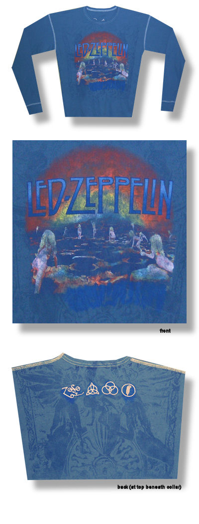 Led Zeppelin Houses Of The Holy Long Sleeve Swag Thermal 041