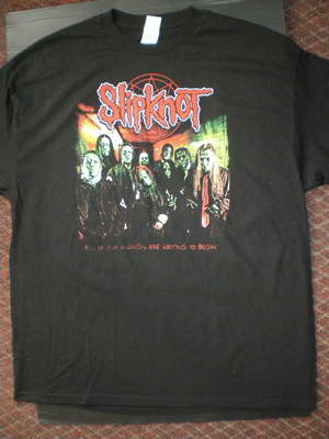 Slipknot All Of Our Endings Are Waiting To Begin Tee Front 055